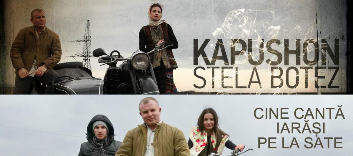 Kapushon & Stela Botez - Cine cântă iarăși pe la sate (official video/foto/versuri)