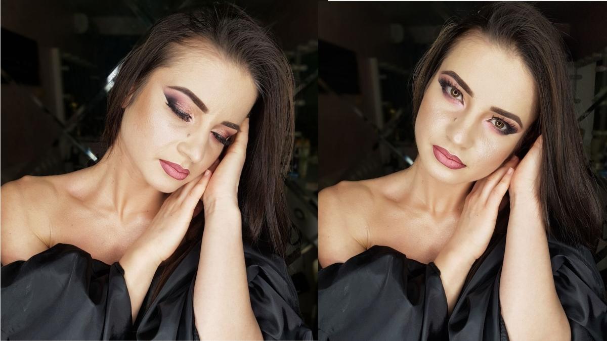 Lucia Macarov - make-up artista care m-a impresionat prin profesionalismul său.